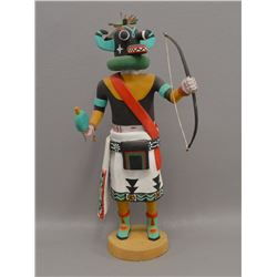 "HOPI ""HAOHOTE"" KACHINA BY PHILMAN HARVEY"
