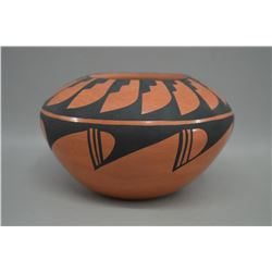 JEMEZ INDIAN POTTERY BOWL BY EDWINA TOSA TORTALITA