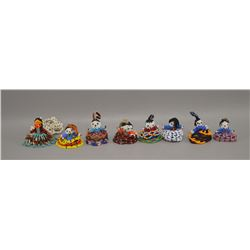 COLLECTION OF NATIVE AMERICAN ZUNI BEADED FIGURES