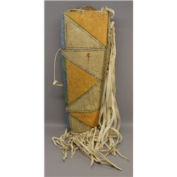 NATIVE AMERICAN PLAINS PARFLECHE QUIVER