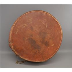 NATIVE AMERICAN PLAINS INDIAN DRUM