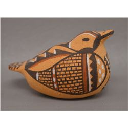 NATIVE AMERICAN ZUNI POTTERY BIRD BY ERMA KALESTEWA HOMER