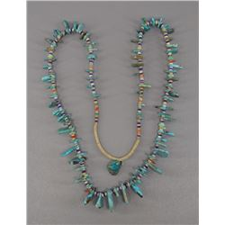 NATIVE AMERICAN NAVAJO TURQOUISE NECKLACE