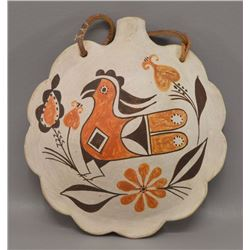 NATIVE AMERICAN ACOMA POTTERY CANTEEN