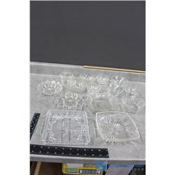 Clear Glass Collection - (1) Crystal Glass