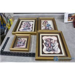 Set of (4) 3D Shadow Boxes
