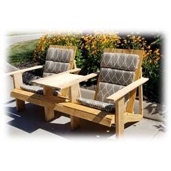Custom made Wood Firepit & Adirondack Chairs - Value $1250