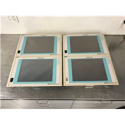 """(4) SIEMENS A5E00100111 PANEL SYSTEM TOUCH 15"""" TFT"""