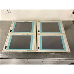 """(4) SIEMENS GWE-570043900600 PANEL SYSTEM TOUCH 15"""" TFT"""