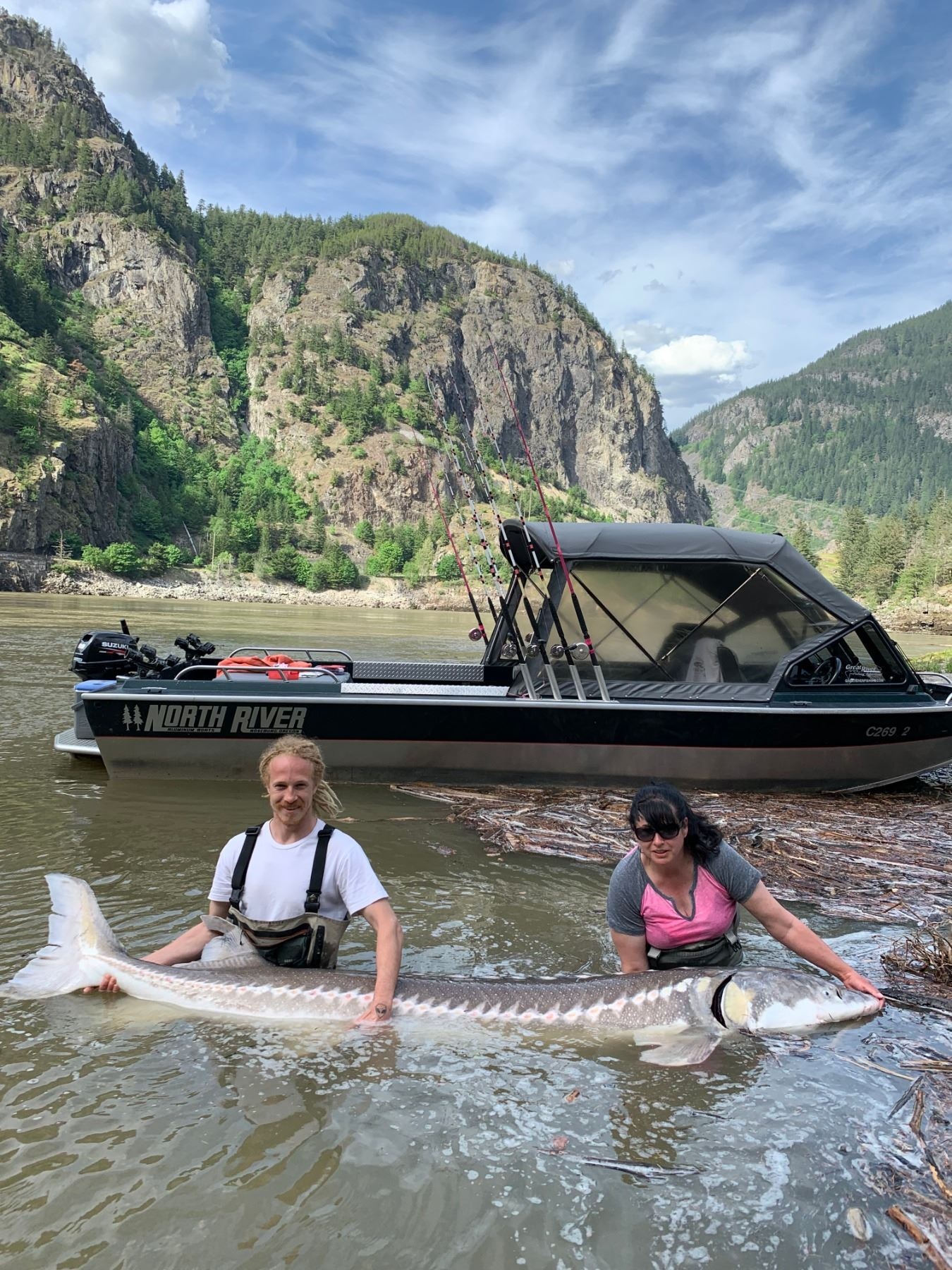 1-DAY (8 hour) BIG GAME ULTIMATE FRASER CANYON STURGEON EXPERIENCE FOR 2 PEOPLE