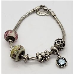 PANDORA CHARMS 925 ALE CHARMS WITH STERLING