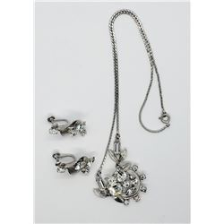 SET! VAN DELL 9254 NECKALCE WITH MATCHING