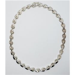 LOOKS NEW! 17 INCH MILOR ITALY LINKED NECKLACE