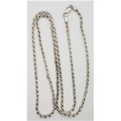 LOOKS NEW!! 36 INCH MILOR ITALY 925 NECKLACE/CHAIN