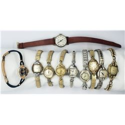 10-LADIES VINTAGE WRIST WATCHES