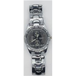 GENEVA CHRONOGRAPH SILVER TONE MENS WATCH