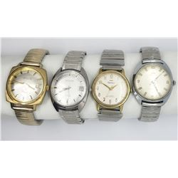 4-WALTHAM MENS WRIST WATCHES