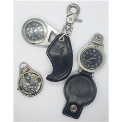 3-MENS POCKET / CLIP-ON WATCHES