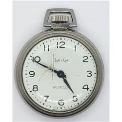 WESTCLOX BULL'S EYE POCKET WATCH