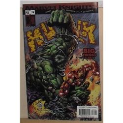 MINT With poster more than 20 pages Marvel Comics Marvel Knights HULK #74 Sept 2004 -bande dessinée