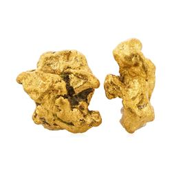 Lot of Gold Nuggets 2.49 Grams Gold Weight