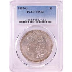 1882-O $1 Morgan Silver Dollar Coin PCGS MS62