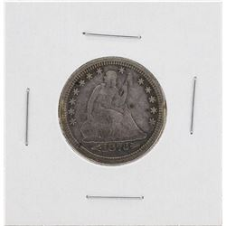 1873-S Arrows Seated Liberty Quarter Coin