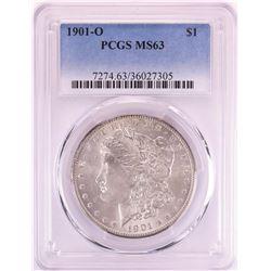 1901-O $1 Morgan Silver Dollar Coin PCGS MS63