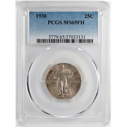 1930 Standing Liberty Quarter Coin PCGS MS65FH