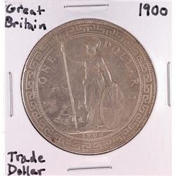 1900 Great Britain Trade Silver Dollar Coin