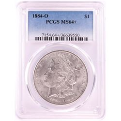 1884-O $1 Morgan Silver Dollar Coin PCGS MS64+