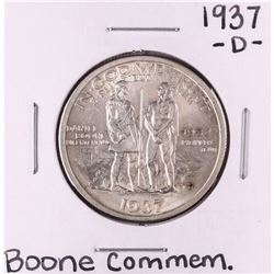 1937-D Boone Commemorative Half Dollar Coin