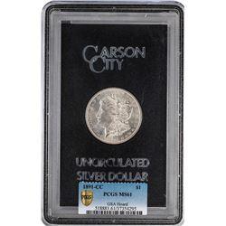 1891-CC $1 Morgan Silver Dollar GSA Hoard Uncirculated PCGS MS61