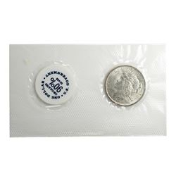 1923 $1 Peace Silver Dollar Coin GSA Soft Pack