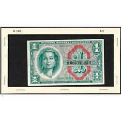 Series 611 $1 Military Payment Certificate Note