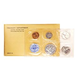 1956 (5) Coin Proof Set In Envelope