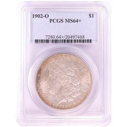 1902-O $1 Morgan Silver Dollar Coin PCGS MS64+