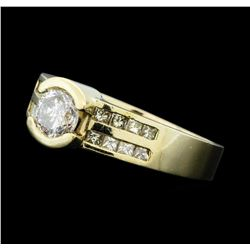 1.02 ctw Diamond Ring - 14KT Yellow Gold