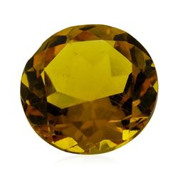 2.23 ct.Natural Round Cut Citrine Quartz
