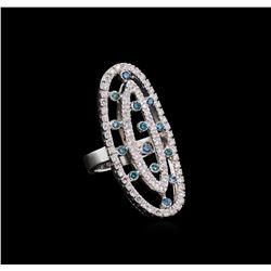14KT White Gold 1.49 ctw Diamond Ring