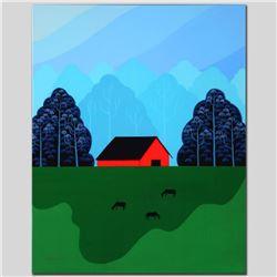 New England Barn by Holt, Larissa