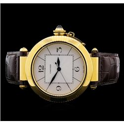 Cartier Pasha Jumbo 18KT Yellow Gold Watch