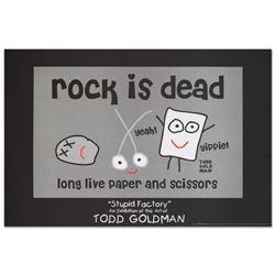 Rock is Dead by Goldman, Todd