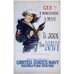 Howard Christy-  US Navy Woman