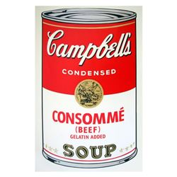 Soup Can 11.52 (Consomme) by Warhol, Andy