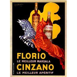 Leonetto Cappiello - Florio Cinzano