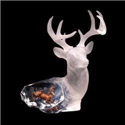 """Kitty Cantrell, """"Majestic Spirit"""" Limited Edition Mixed Media Lucite Sculpture w"""