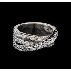 14KT White Gold 2.40 ctw Diamond Ring