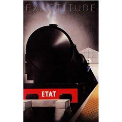 Adolphe Cassandre - Exactitude Etat