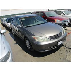 TOYOTA CAMRY 2004 APP  DUP/T-DON